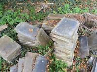 Unused Spanish slates