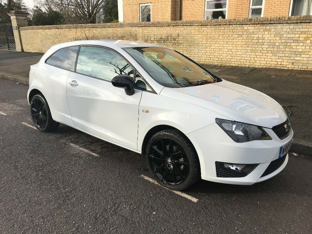 65 plate seat ibiza fr tsi 1 4 white black edition cat d 19 000 miles only excellent condition. Black Bedroom Furniture Sets. Home Design Ideas