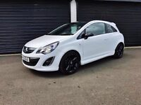 2013 VAUXHALL CORSA 1.2 LIMITED EDITION 3 DOOR WHITE FINANCE AVAILABLE