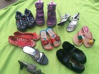 Girls shoes uk size 11 & 12 all for £10