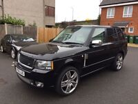 RANGE ROVER VOGUE OVERFINCH 4.4 V8 LOW MILEAGE NOT M6 M5 M3 RS6 RS3 M SPORT BMW MERCEDES AUDI