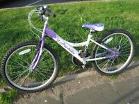 "GIRLS/LADIES, PROBIKE ""Melody"", IN EXCELLENT CONDITION IT HAS 18 GEARS,12 inch frame,24 inch Wheels,"