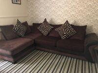 2 piece luxurious sofa