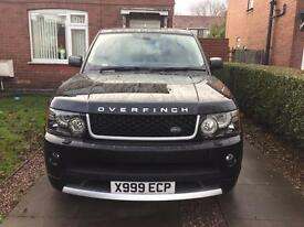 Range Rover sport 2007 autobiography replica with cheap tax £167 per year