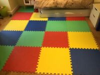 Soft play floor mats