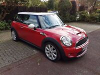MINI COOPER S 1.6 CHILLI/LOUNGE PACK,FULL SERVICE HISTORY,PAN ROOF,XENONS,LEATHER,BLUETOOTH,BARGAIN!