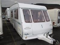 Compass Clermont 500/4 berth 2000 model clean and dry family caravan and all ready to on holidays