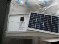 2 Brand New 10w Solar Panels