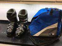 Salomon Evolution 8 men's Ski Boots and boot bag