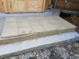 Sandstone Buff paving stones 70 in total