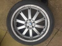 22 Inch Alloy Wheels & Tyres