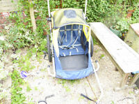 Shetland 2 person bike trailer