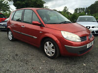 SEPT 2004 RENAULT SCENIC 1.5 DCI TRADE IN TO CLEAR