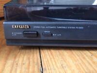 AIWA Record Player & Preamp