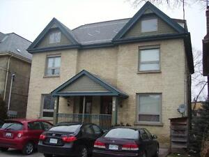 Nice, clean 4 bdrm, 2-storey apartment in downtown.   May 1st
