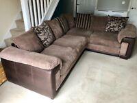 DFS Infinity Left Hand Corner Sofa