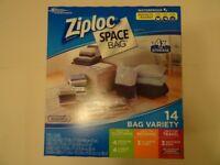 Ziplock Space Bags (14 Pack)
