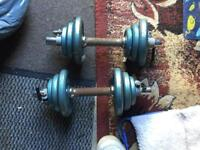 Dumbbell weights for sale
