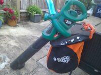 Black and decker leaf blower/ vacuum for sale  Cambridge, Cambridgeshire
