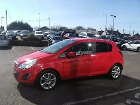 2011 61 VAUXHALL CORSA 1.2 SXI AC CDTI ECOFLEX 5D 73 BHP **** GUARANTEED FINANCE ****