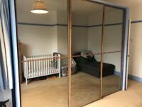 FREE Large well made wardrobe with mirrors