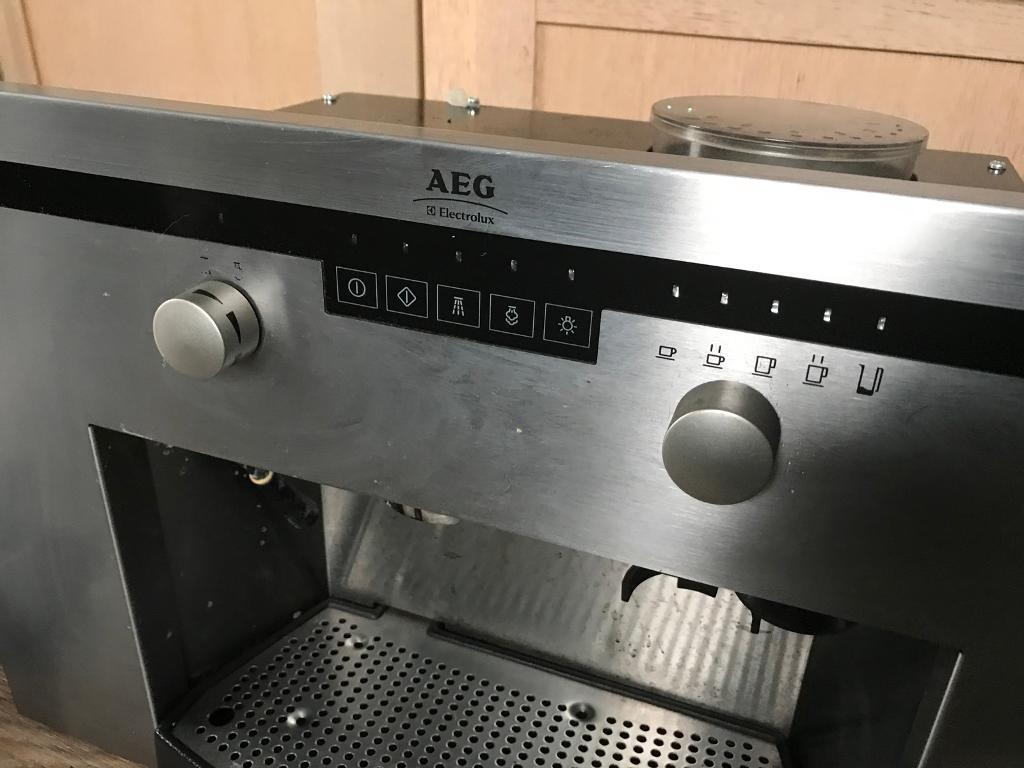 Aeg Electrolux Bean To Cup Coffee Machine Integrated In Lochgelly Fife Gumtree