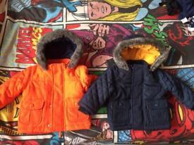Boys 3-6 months winter coats