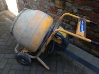 Belle cement mixer and stand