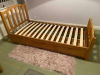 Wooden Bed Frame - single