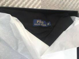Brand new and still gift wrapped Ralph Lauren Polo Black polo shirt size 4XB Big £35