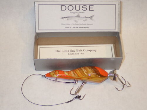 Little Sac DOUSE,  Orange Marble & Brown, 2012 - New