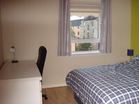 Double bedroom with own bathroom and private parking space - Anniesland Cross