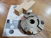 Finger Jointing Cutter Block for Worktop