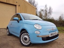 Fiat 500 1.2 Lounge Dualogic 3dr (start/stop) *p/x welcome PAN ROOF*HPI CLR*JUST SERVICED