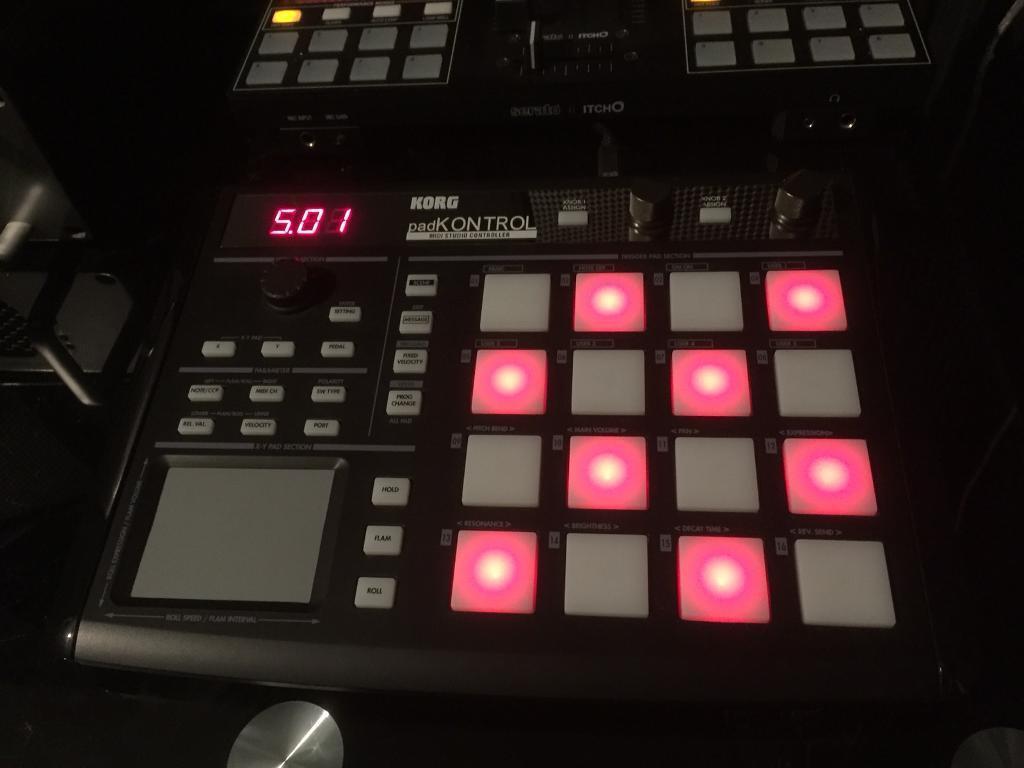 Korg Padkontrol Drum maschine (pad kontrol) sampler