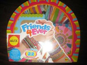 ALEX Toys DIY Wear Friends 4 Ever Jewelry Making Kit. NEW. Sealed. DIY Wear, Friendship Bracelet Kit. Great Gift