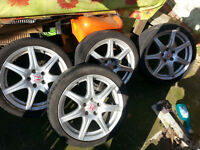"""Honda accord type-R alloy wheels 18 """" for sell"""