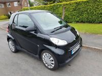 Smart Fortwo 1.0 Pure 2dr,full history,2009 plate