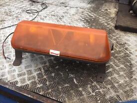 Britax orange flashing work/saftey light
