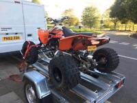 Ktm 525 quad not raptor ltr may px for a van