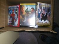BOX OF VARIOUS DVD'S