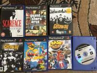 7 PS2 Games