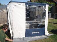 Comanche Folding Trailer Tent + Spare wheel.