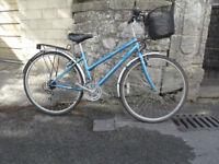 Ladies bike Reflex blue very good condition