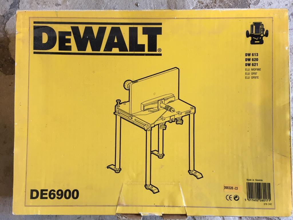 Dewalt de6900 router table in burnage manchester gumtree dewalt de6900 router table keyboard keysfo Images