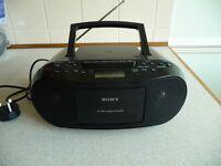 SONY CD, RADIO PLAYER