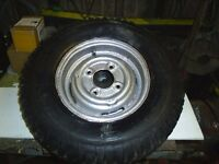 3 x mini wheels with 145/10 tyres all in good order will sell seperate at £25 each or £60 for lot