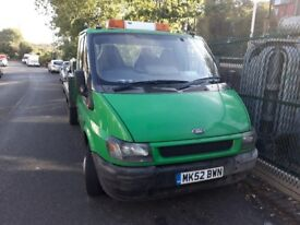 Ford Transit Recovery truck 2.4 diesel manual MOT and tax
