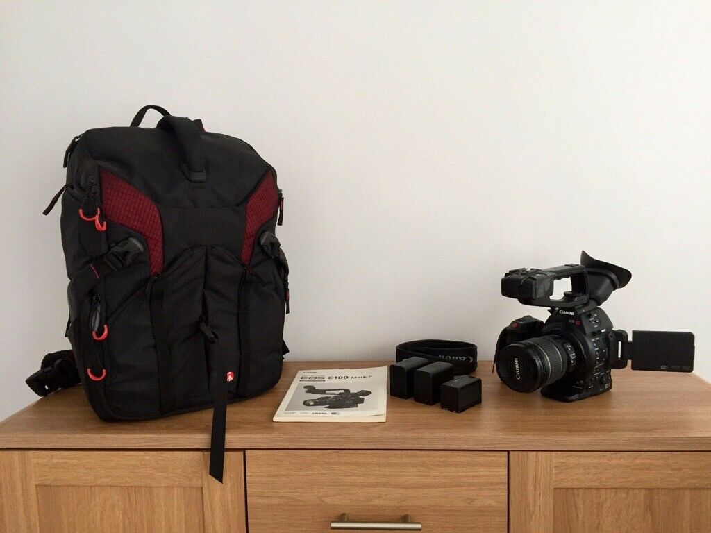 Canon EOS C100 Mark II with accessories  | in Braintree, Essex | Gumtree