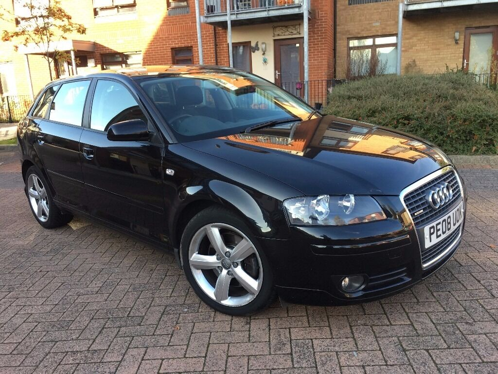 Audi A3 2.0 TDI Sport Quattro 5dr FULL STAMPS,3 MONTH WARRANTY